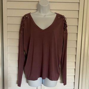 NWOT Mauve blouse